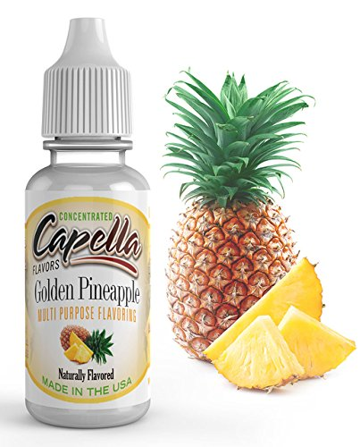 Capella Flavor Drops Golden Pineapple Concentrate 13ml