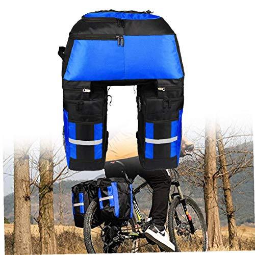 Adore store 70l hinten Fahrrad-Beutel-wasserdichte Fahrradtasche Taschen 3 in 1 Fahrrad-Sattel-Beutel mit Regen Schild für Reisen Wandern