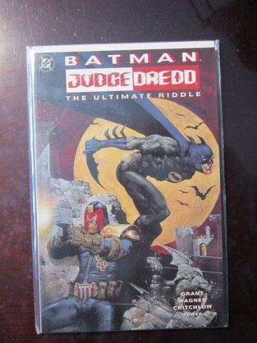 Batman - Judge Dredd: The Ultimate Riddle by Alan Grant (1995-07-01)