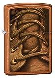 Zippo Boot Laces - Set de Mantenimiento para Acampada, Color marrón