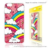 LG K5 Case FunnyTech® Silicone Gel Cover Transparent for