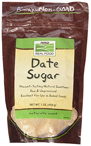 NOW Foods Date Sugar, 1 lb