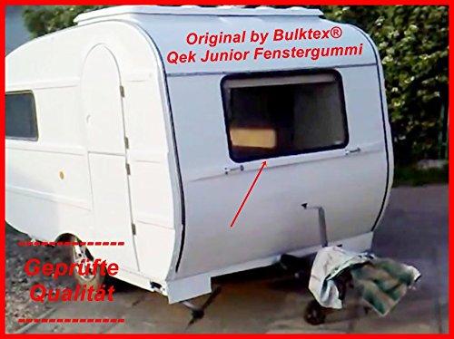 Original Bulktex® Qek Qeck Junior Wohnwagen Wohnmobil Camping Scheibengummi Profilgummi Gummi Keder Füller für alle 4 Fenster Scheiben Neu