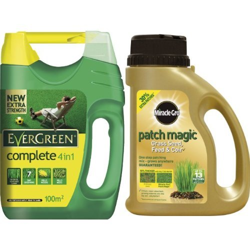 EverGreen Complete 4-in-1 Lawn Care Spreader, 3.5 kg & Scotts...