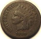 1880 Indian head Penny Good