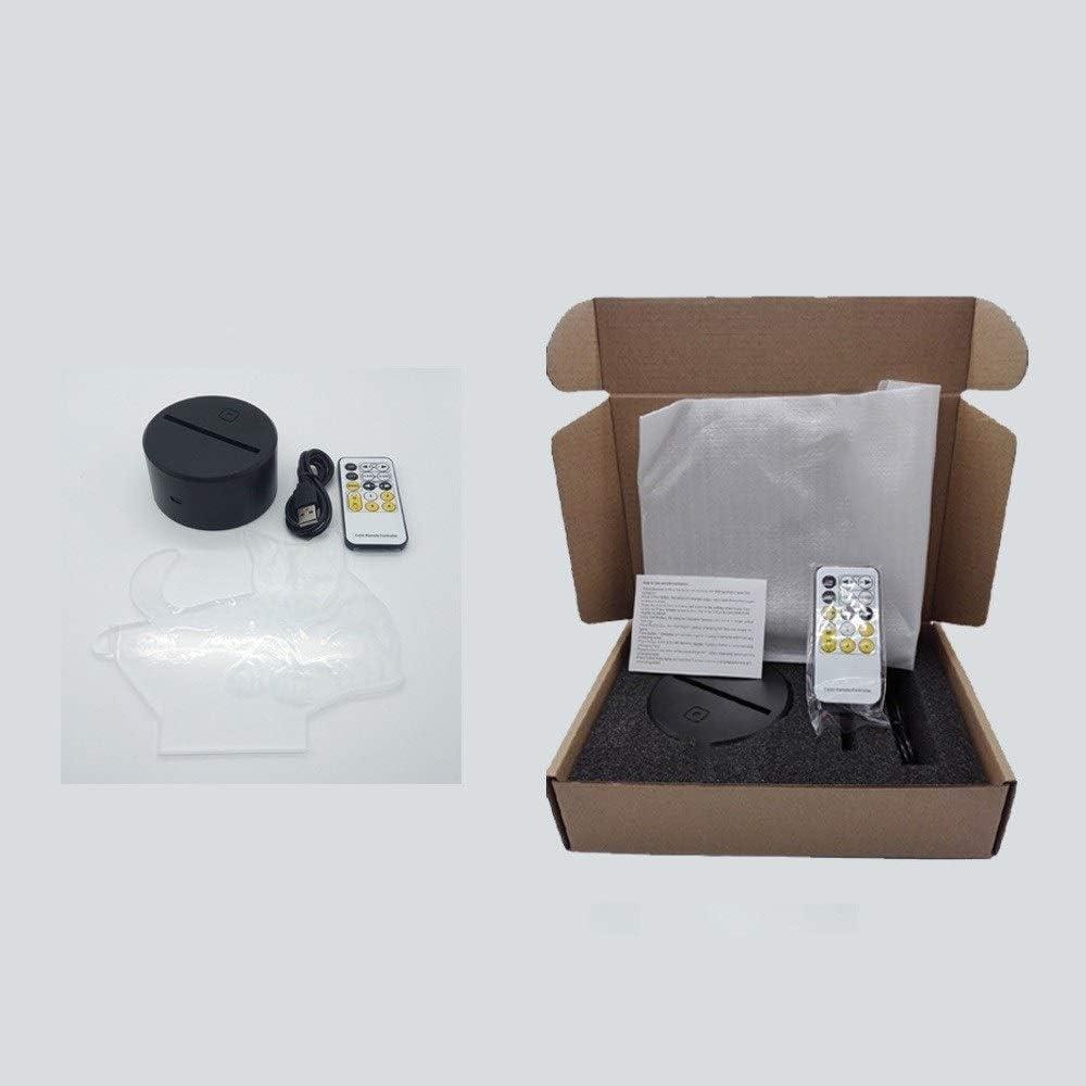 Hangarone LED Desk Lamp Colorful 3D Fashion Gradient Stereoscop Outlet SALE