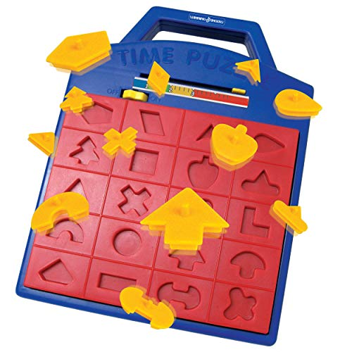 Winning Fingers Shape Toy Puzzle Game – Pop Up Board Game with Shape Puzzles - Great Educational Toy Geared for Kids Ages 3+ - Concentration Game