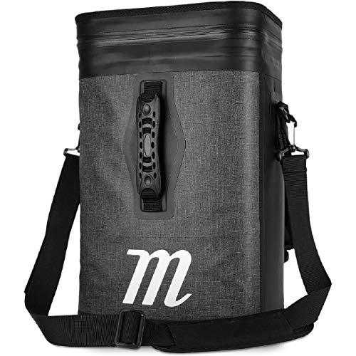 Marucci Sports - Cooler Backpack (MBBPCL-BK/GY) Baseball Equipment Handling