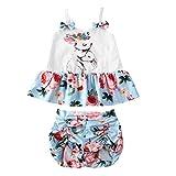 BULINGNA Baby Girls' Shorts & Top Sets