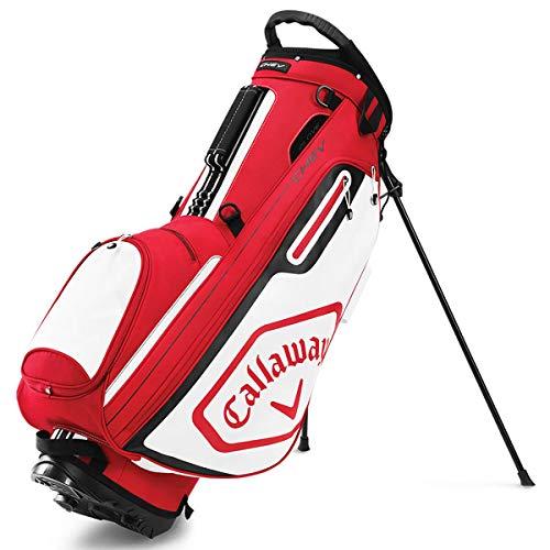 Callaway Chev 2020 Bolsa Carrito Golf Adultos unisex, ROJO/BLANCO/NEGRO, UNICA