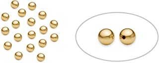 14 karat gold beads