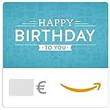 Chèque-cadeau Amazon.fr - E-mail - Motifs d'anniversaire
