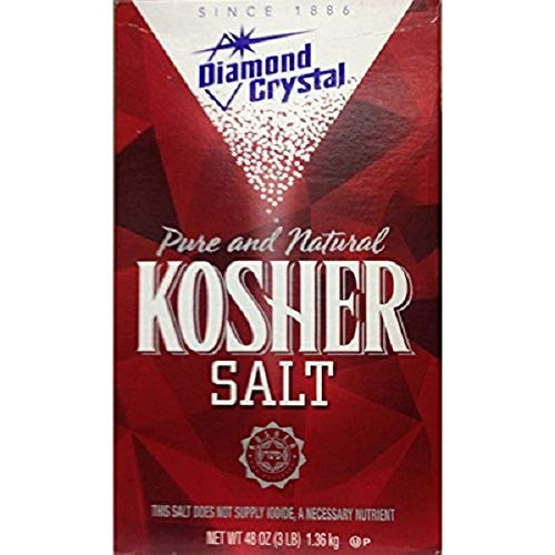 Diamond Crystal Pure Natural Kosher Salt 1.36 kg