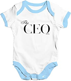 TWISTED ENVY Cute Infant Bodysuit The CEO