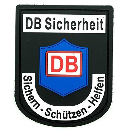 polizeimemesshop DB Deutsche Bahn Sicherheit Rubber Patch