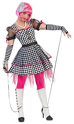 Das Kostümland Marionetten Kostüm für Damen - Gr. 44 46