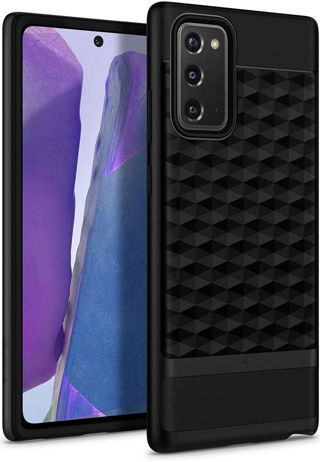 Caseology Parallax for Samsung Galaxy Note 20 Case (2020) 5G - Matte Black
