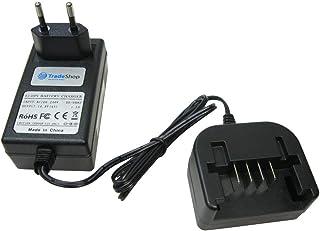 Trade-Shop 14,4 V Li-Ion batteriladdare laddningsstation ersätter Black & Decker 90553172 för LDX120C LDX120SB LGC120 LMT1...