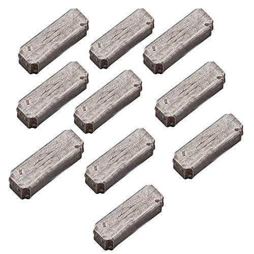 Briggs & Stratton 4181 Passfedern für Schwungrad, Aluminium, Originalteil, 10Stück