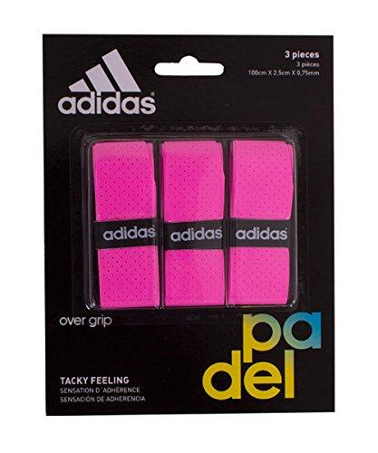 adidas Pádel OV - Set overgrip, Color Rosa, Talla única