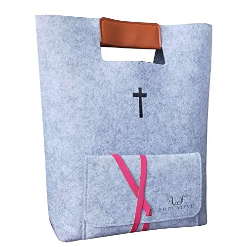FREEALIVE Bible Carrying case Bible Tote Bags Bible Covers for women Christian Gifts Church Bags Bible Bag tote large size