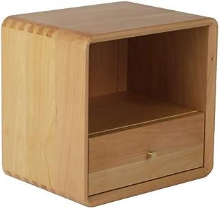 Gabinete de CD de madera maciza de doble capa, caja de almacenamiento de cajón de DVD de disco de juego de cinta magnética...