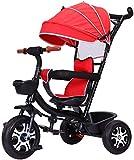 LOXZJYG Cochecito Cochecito Cochecito Cochecito plegable3 en 1 Etapa Cochecito Caminante Convertible Jogger Triciclo Ligero para Viajes de bebé, Compras, Caminar