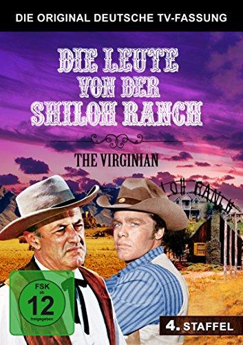 Die Leute von der Shiloh Ranch - Staffel 4 (Deutsche TV-Fassung) (5 DVDs)