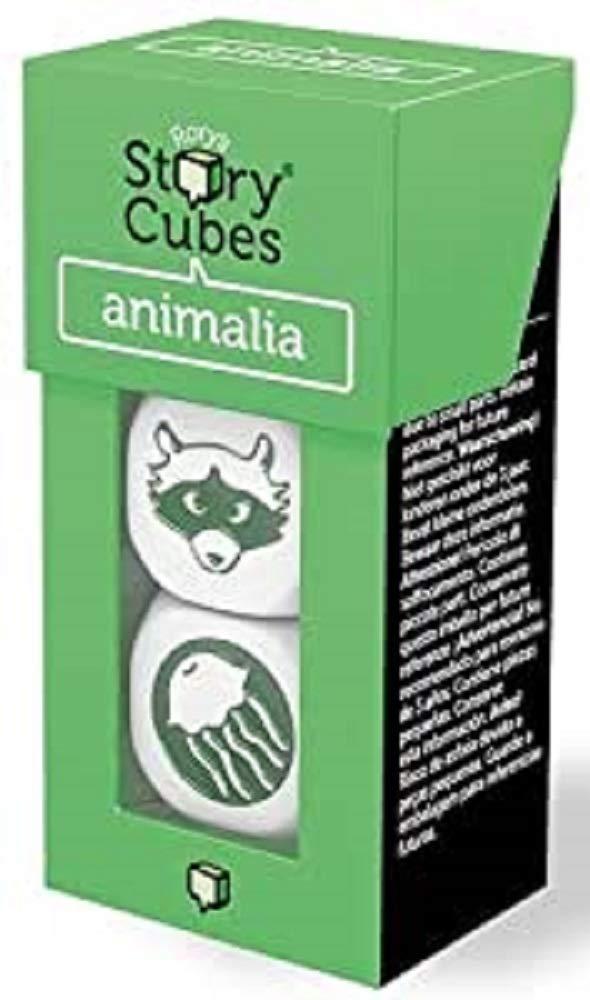 Rory Story Cubes Animalia Juego de Mesa de Dados para Crear Cuentos e Historias, temática Animales (podría no Estar en español): Amazon.es: Juguetes y juegos