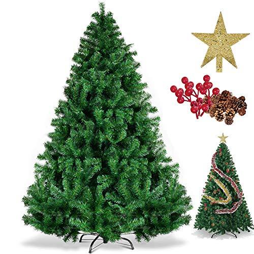 LucaSng Sincher Árbol de Navidad Artificial, 6 Pies Ecológ