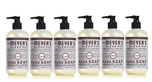 Mrs. Meyer's Liquid Hand Soap Lavender, 12.5 OZ (Pack of 6)
