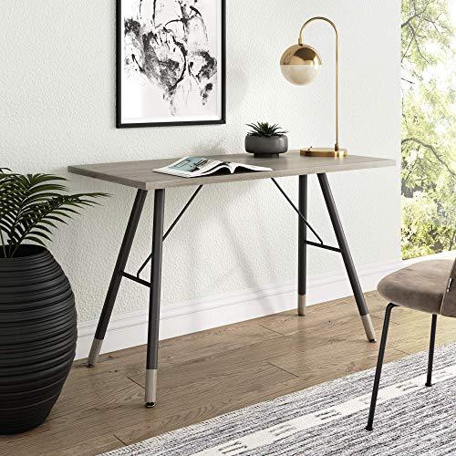 Nathan James Andi Computer, Office Desk, or Small Study Table, Light Wood...