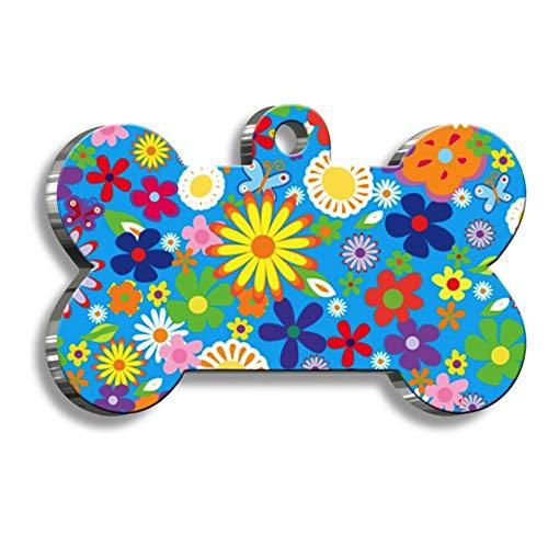 Pet Tag Art Con Forma de Hueso Serie de Estilo Etiquetas de Perro Personalizadas ID de Etiqueta de Mascota - 10