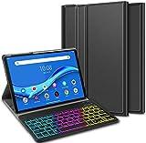 ELTD Tastatur Hülle für Lenovo Tab M10 Plus,Deutsches
