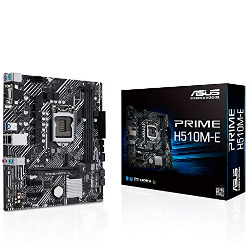 ASUSTek Intel 第10世代・11世代CPU(LGA1200)対応 H510 チップセット PRIME H510M-E MicroATX マザーボード 【国内正規代理店品】