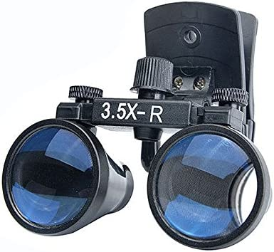 3.5X Dental Albuquerque Mall High quality Binocular Loupes DY-110 Magnif Surgical Type Clip-on