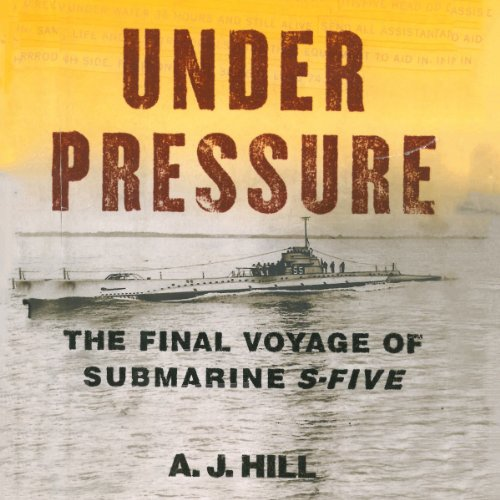 Under Pressure Audiobook By A.J. Hill cover art