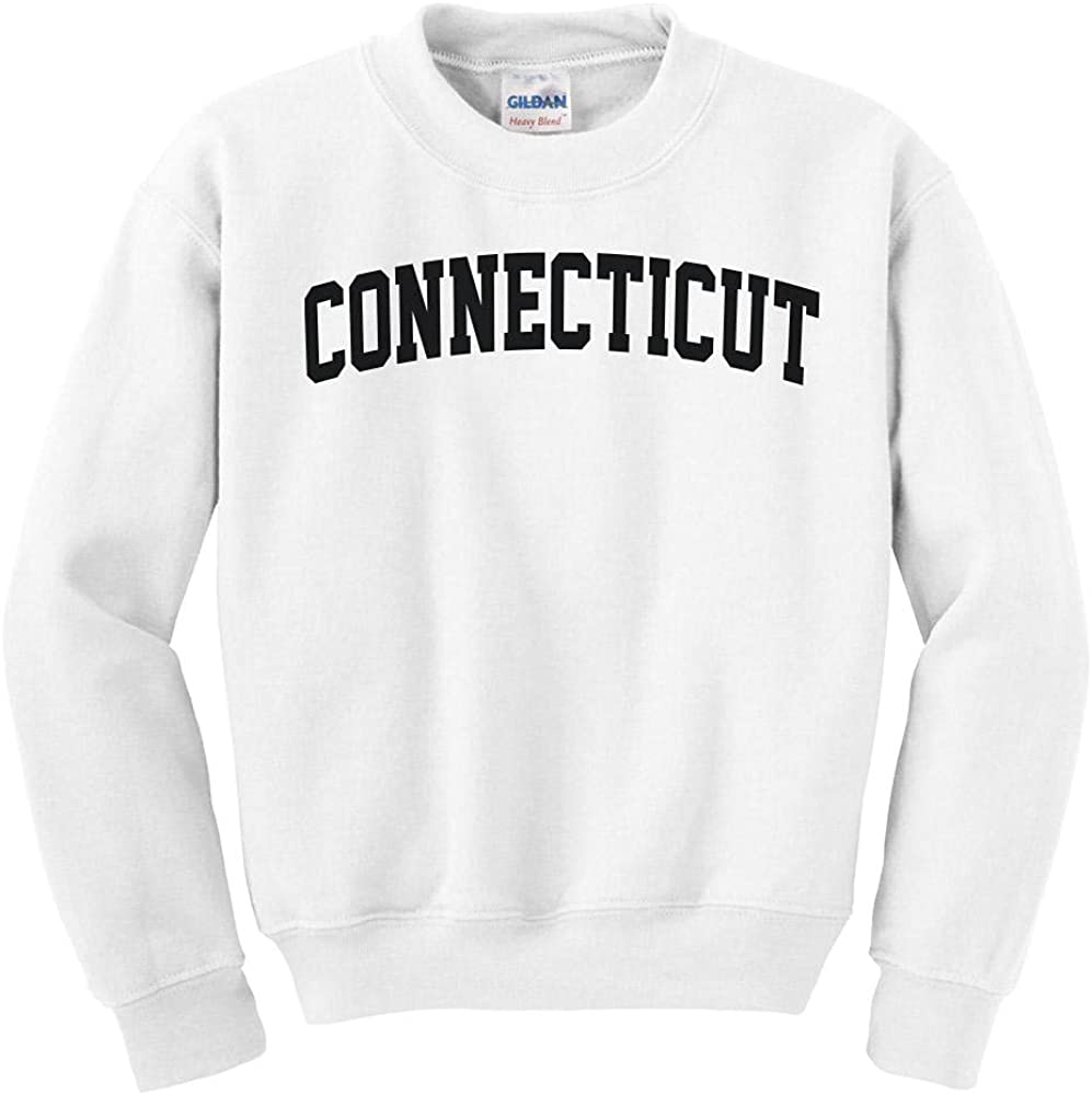 Connecticut College Minneapolis Mall Charlotte Mall Style Youth Sweatshirt Kids