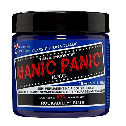 MANIC PANIC Rockabilly Blue Hair Dye Classic