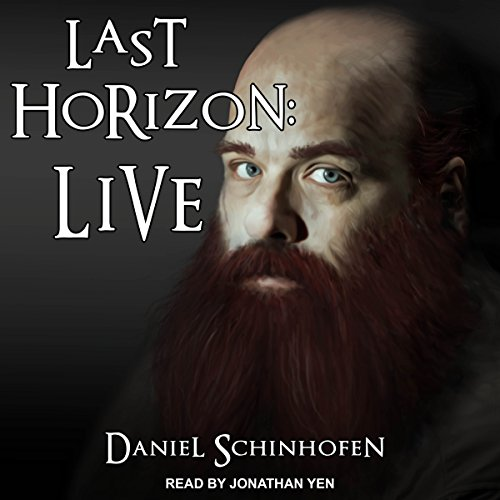 Last Horizon: Live audiobook cover art