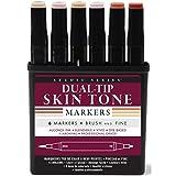 Studio Series Professional Alcohol Markers - Skin Tones - 6 Pack