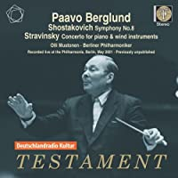 Sym.8 / Concerto For Piano & Wind Instruments: Berglund / Mustonen(P) / Bpo