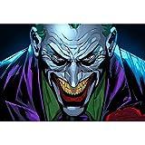 Puzzle 1000 piezas Imagen de Joker Patrón de personaje de película estadounidense puzzle 1000 piezas adultos Juego de habilidad para toda la familia, colorido juego de ubicación.50x75cm(20x30inch)