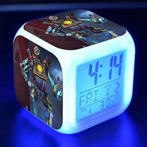 Figura Led Despertador Colorido Intermitente NiñO Juego Personaje Juguete N38