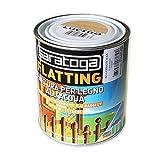 Saratoga flatting 750ml finitura trasparente per legno all'acqua per interni ed esterni (opaco)