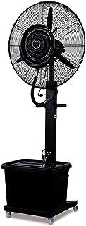 Jyfsa Ventilador Industrial de Ventilador de fábrica móvil, Ventilador de Niebla para Tienda residencial Comercial, Tanque de Agua Negra 42L