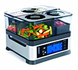Viante CUC-30ST Intellisteam Counter Top Food Steamer with 3 Separate Compartments, review & buy at low price