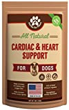 Dog Cardio Strength Heart Murmur Supplement Hawthorn Berry Powder, vitamins for pet heart health | Made in USA