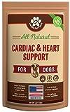 Herbs for Paws Supplément Cardiaque d'aubépine pour Chiens ayant Une Force Cardio 4,0 oz