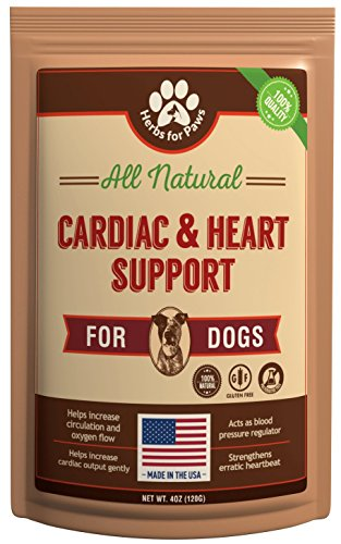 Dog Cardio Strength Heart Murmur Hawthorn Supplement Powder, Hawthorne for Dogs Vitamins for pet Heart Health| Made in USA - 4.0 OZ